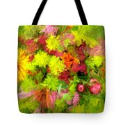 Flowers By The Brush Tote Bag