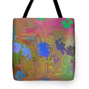 Flowers Cubed 1 Tote Bag