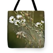 Flowers End Tote Bag