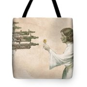 Flowers For Alderaan Tote Bag by Eric Fan