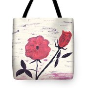 Flowers For Tonya And Myrtle Tote Bag