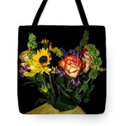 Flowers From The Heart Tote Bag