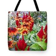 Flowers Galore Tote Bag