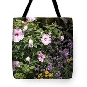Flowers In A Garden Tote Bag