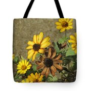 Flowers In Fall 1 Tote Bag