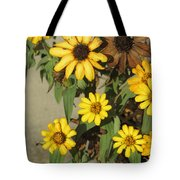 Flowers In Fall 2 Tote Bag