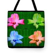 Flowers In Ireland Tote Bag