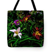 Flowers In The Garden 2 Tote Bag