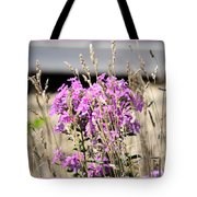 Flowers In The Grass 8891 Tote Bag