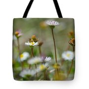 Flowers In The Hight Mountains. Tote Bag