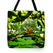 Flowers In The Woods Tote Bag