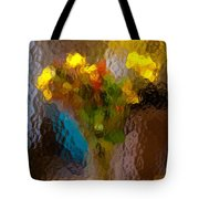 Flowers In Vase - Still Life Tote Bag