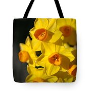 flowers-Jonquils-bright yellow Tote Bag