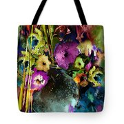 Flowers Night Party Tote Bag