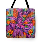 Flowers Of Passion Tote Bag