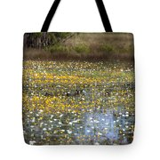 Flowers Of The Billabong Tote Bag
