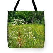 Flowers Of The Field Tote Bag