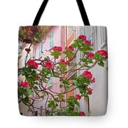 Flowers Of Villefranche Tote Bag