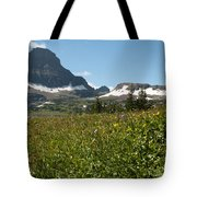 Flowers On Logan Pass Tote Bag