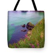Flowers On The Coast Tote Bag