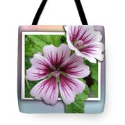 Flowers Out Of Bounds Tote Bag