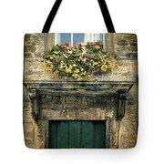 Flowers Over Doorway Tote Bag