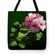 Flowers - Pale Pink Geranium Tote Bag