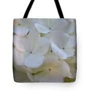 Snowball Flowers Tote Bag