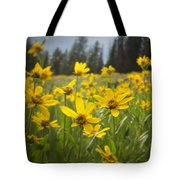 Flowers That Are Wild Tote Bag