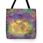 Flowerworks - Square Version Tote Bag