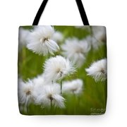 Flowery Cotton Tote Bag