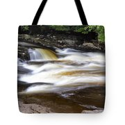 Flowing And Cascading At The Falls Of Dochart - Killin Scotland Tote Bag