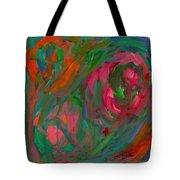 Flowing Color Tote Bag