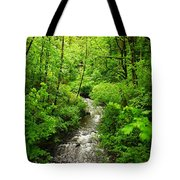 Flowing Down The Mountain Tote Bag