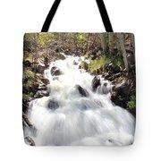 Flowing Fast Tote Bag