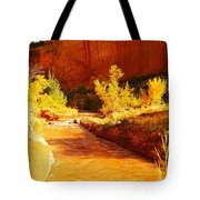 Flowing From Capital Reef Tote Bag