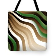 Flowing Graphic Tote Bag