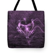 Flowing Heart Tote Bag