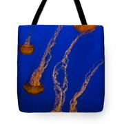 Flowing Pacific Sea Nettles 3 Tote Bag
