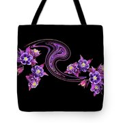 Flowing Purple Velvet 2 Tote Bag