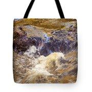 Flowing River Rapids Tote Bag