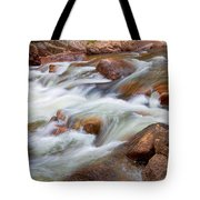Flowing St Vrian Creek   Tote Bag