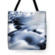 Flowing Stream Tote Bag by Les Cunliffe