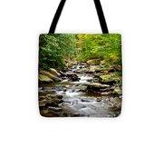 Flowing Stream Tote Bag