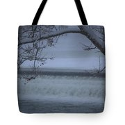 Flowing Through Ice Tote Bag