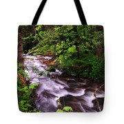Flowing Through The Forest Tote Bag