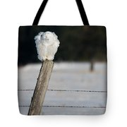 Fluff Cycle Snowy Tote Bag