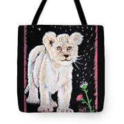 Fluffy And Thistle Tote Bag