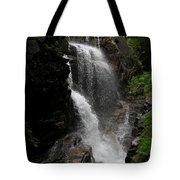 Flume Gorge Waterfall Nh Tote Bag