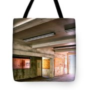 Fluorescent Underground Palm Springs Tote Bag